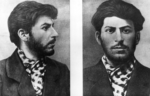 Молодой Иосиф Сталин, каким …