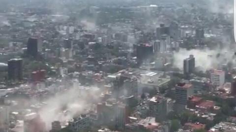 Мощное землетрясение в Мексике: нет сотовой связи, разрушены дома, закрыты аэропорты