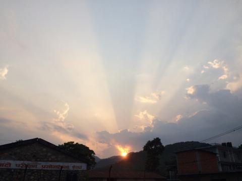 Последний день непальской весны