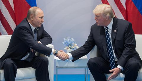 Трамп заявил Путину, что уверен в невмешательстве России в выборы в США