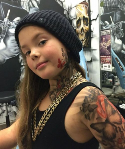 Временные татуировки, чтобы …