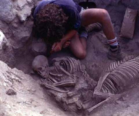 Новые сенсационные фотографии с раскопок подтверждающие существование Кентавров!