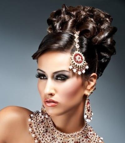 Восточный макияж для карих глаз – ливанский, египетский, индийский