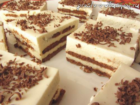 Обалденный торт за 20 минут без выпечки. Я его делаю каждую неделю!