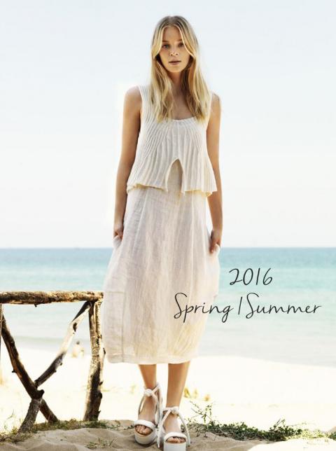Бохо от французской марки Crea concept: 46 нарядов коллекции Spring/Summer 2016