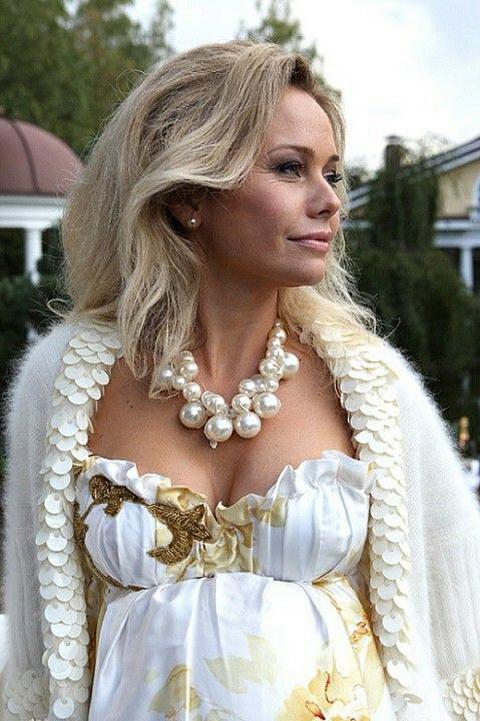 Вязаная одежда российских звезд