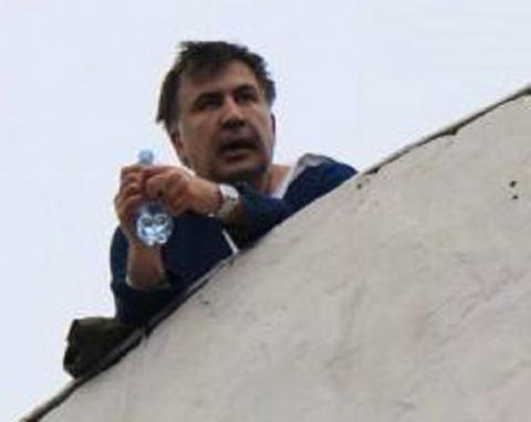 Саакашвили – обычный офицер …