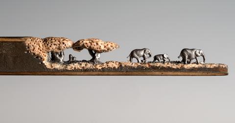 Эти скульптуры, вырезанные из обычных карандашей, поражают воображение!