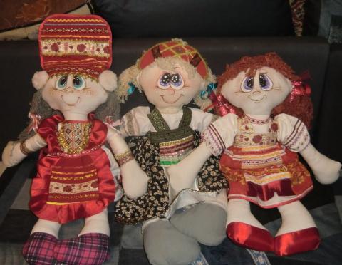 куклы-мордовочки и другие костюмы