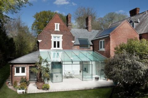 Стеклянный дом от «AR Design Studio»