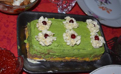 Торт «СКАЗКА»… печеночный
