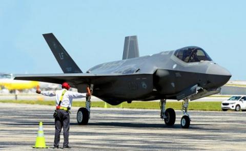 F-35 научили шпионить за сво…