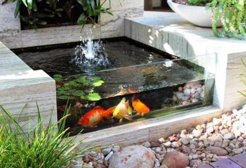 Садовый аквариум на даче - уникальное украшение участка!