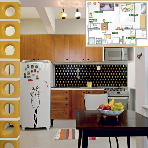 Три интерьера очень маленьких квартир — от 26 до 28 кв.м