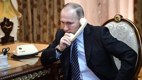 Путин провел телефонные пере…