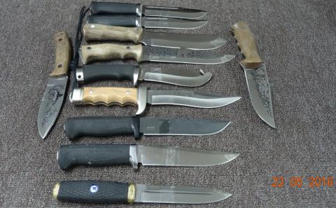 Фотосессия ножей или каждый клинок произведение искусства