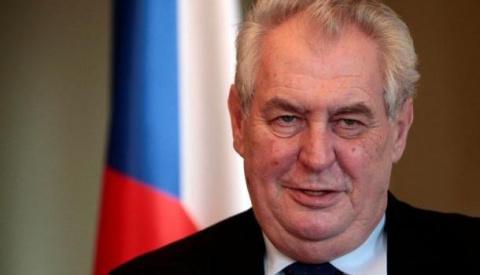 Президент Чехии снова «обрад…