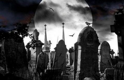 """""""Блуждающие могилы"""" Этот фен…"""