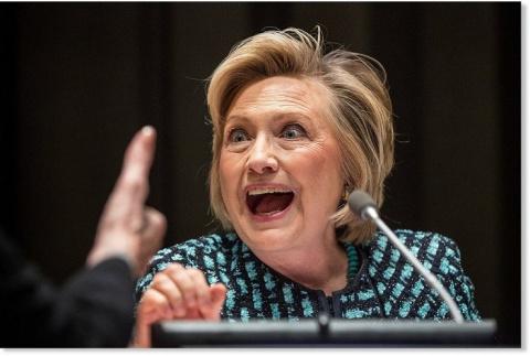 Бред сумасшедшей Хиллари Клинтон ради заветных очков