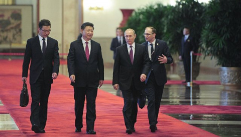 Россия и Китай подписали дес…