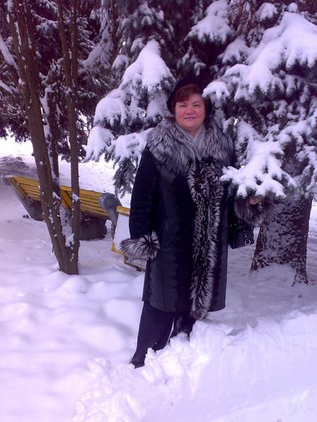 Я зимой в парке.
