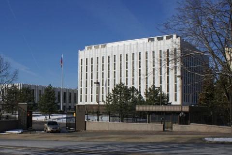 Посольство РФ призвало США перестать ограничивать свободу прессы