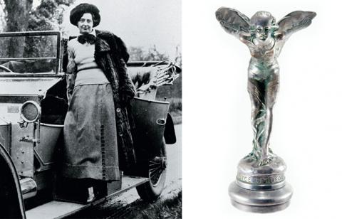 «Элли в ночнушке» — история статуэтки, украшающей капот Роллс-Ройса