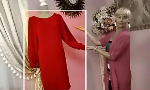 ИГОЛКА С НИТОЧКОЙ. Трикотажное платье от Ольги Никишичевой
