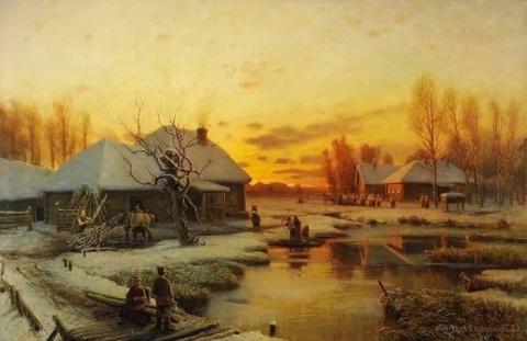Какой уютной была земля — душевные картины художника Петра Суходольского