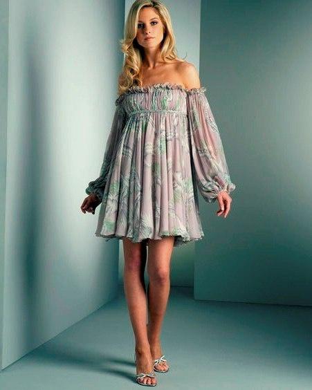 Простое летнее платье без выкройки для начинающих