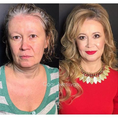 Никогда не доверяй женщине с макияжем — ошеломляющие работы российского визажиста
