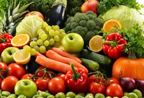 Дикие овощи и фрукты