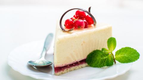 Творожно-клюквенный торт без…