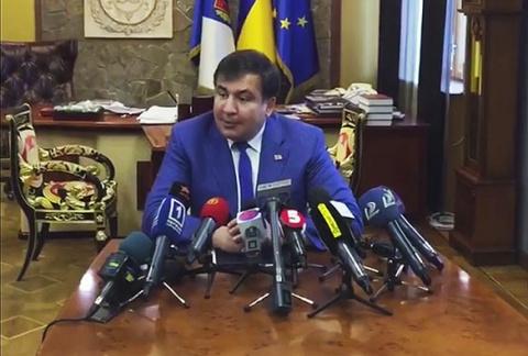 Саакашвили предпочёл Украине…