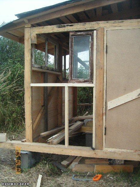 Такими бабушками надо гордиться - строительство дома