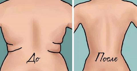 Убери складки на спине и бок…