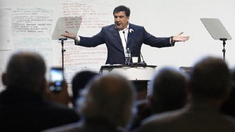 Михаил Саакашвили возвращает…