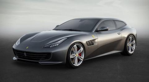Будущее в лице Ferrari GTC4 Lusso