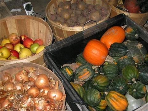 Как хранить овощи зимой