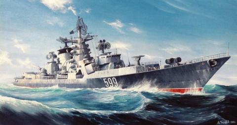 Советские ракетные корабли - шедевры мирового кораблестроения