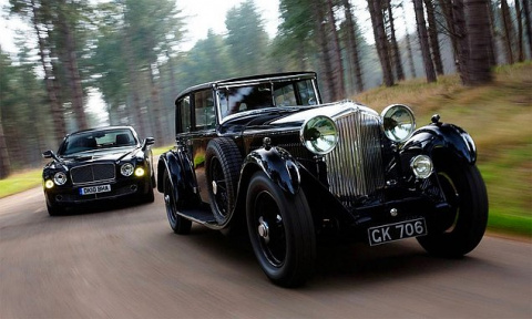 Автомобили известных марок тогда vs. сейчас
