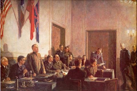 8 мая 1945 года подписан окончательный Акт о безоговорочной капитуляции Германии