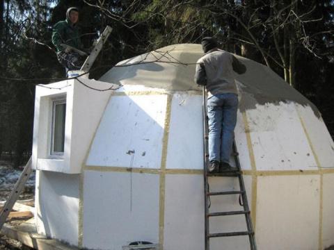 Японцы начали строить чудные дома из… пенопласта
