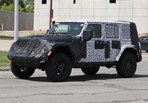 Jeep представит новый Wrangl…