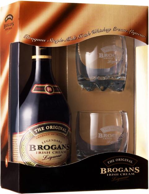 Спиртные напитки.  Ликер Brogans (Броганс)