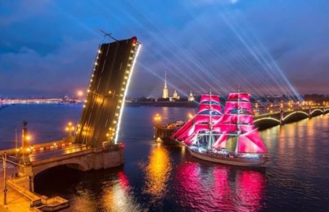 «Алые паруса» в Санкт- Петербурге