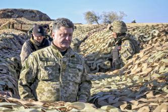 Петр Порошенко: В Донбассе и…