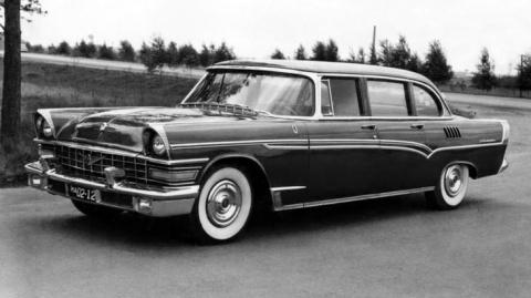 Советская мощь: все автомобили с V8 из СССР