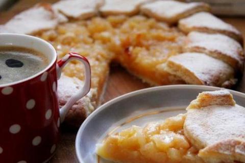 Яблочно-грушевый пирог «Нежность»