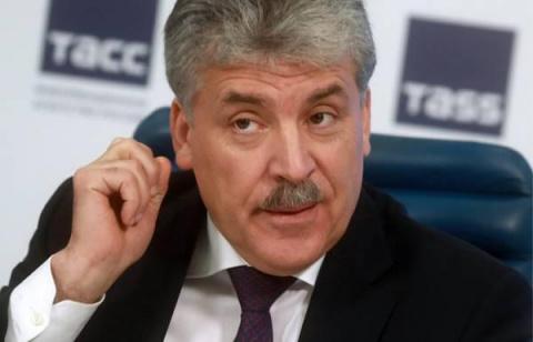 """Молодой еще умом и опытом, чтобы страной рулить: эксперты и россияне раскритиковали программу """"20 шагов Грудинина"""""""